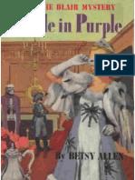 Connie Blair #3 Puzzle in Purple