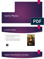 Early Music Power Point