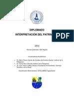 PROGRAMA Diplomado Interpretación Del Patrimonio 2014