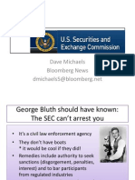 Introduction to the U.S. Securites and Exchange Commision