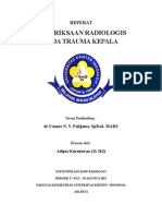 Pemeriksaan Radiologis Trauma Kepala