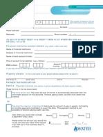 Direct Debit Request Form