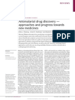 Antimalarial drug discovery — approaches and progress towards new medicines