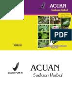 Acuan Sediaan Herbal BPOM RI