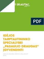 Idėjos tarptautininko specialybei Pasaulio draugas įgyvendinti
