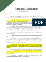 Sri Ramana Darsanam Sri Natanananda