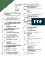 TEST TITULO I (1.2).- derechos y deberes fundamentales