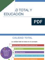 Calidad Total y Educación