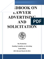 Handbook on Lawyer Advertising and Solicitations
