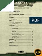 Steam Torpedo Rulebook