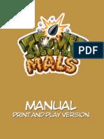 Armymals Manual