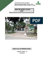 Plano de Ação 2015 Ferreira Gomes