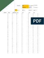 Data Sheet Job Involvement