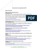 Boletín de Noticias KLR 22SEPT2015