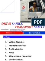 WHSC Drive Safely Transport Safely