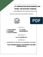 Furnace Using Temperature INDICATOR 2015