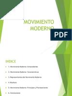 Movimiento Moderno - Bauhaus