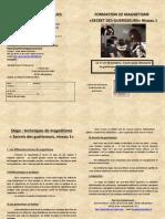 Formation Magnétisme 1 Gy Les Nonains Octobre 2015