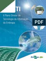 II Plano Diretor de Tecnologia Da Informacao PDTI Da Embrapa 2013 2016