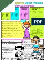 10489 Subjectobject Pronounspossessive Adjectives