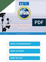 Endonamoo Transformation Global Initiatives