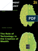 Chapter 2 the Role of Technology in Creation of Wealth