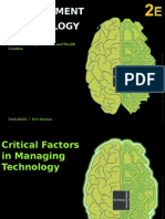 Chapter 3 Critical Factors in Managing Technology