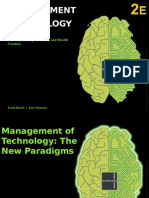 Chapter 4 Management of Technology - The New Paradigms