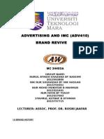 A & W Rebranding