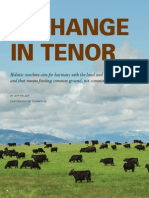 A Change in Tenor