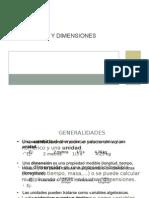 Presentación Unidades y Dimensiones