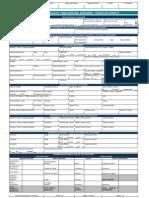 Planilla de Solicitud Multiproducto Tarjeta de Credito Bancaribe