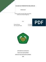 dasar dan struktur organisasi