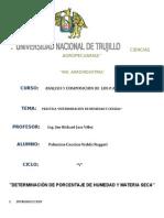 Determinacion de Humedad y Materia Seca - Palomino Cancino Waldir Ruggeri