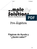 Spanish Math Pre Alg Help(Copia-imprime)