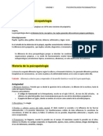 Psicopatologia Unidad 1 unsl