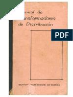 Manual de Transformadores de Distribución