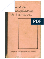 Manual de Transformadores de Distribución