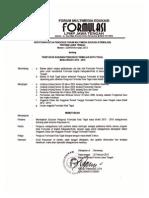 SK FORMULASI Kota Tegal Periode 2013_2015 Dan Berita Acara