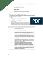 Criterios de Evaluación Interna