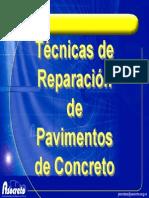Técnicas de Reparación de Pavimentos Rígidos