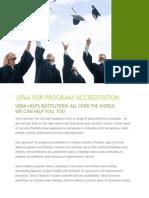 Vena for Program Accreditation