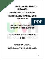 Algebra Lineal Soluciones Infinitas