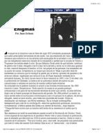 1998-09-20, Enigmas, De Juan Gelman, Contratapa
