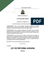 Ley Reforma Agraria