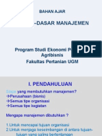 Bahan Ajar Dasar-2 Manajemen-2015