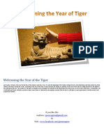 Stories in Photograph - Welcoming the Year of Tiger