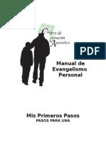 Manual de Evangelismo Personal- Mis Primeros Pasos