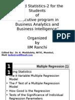 11 Multiple Regression