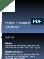 Sistem Informasi Kesehatan New